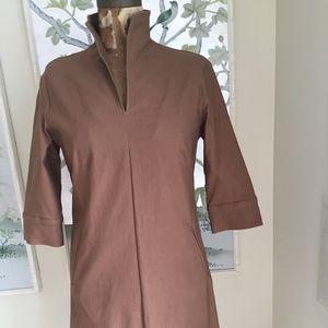Sarah Campbell Tunic Shift Dress